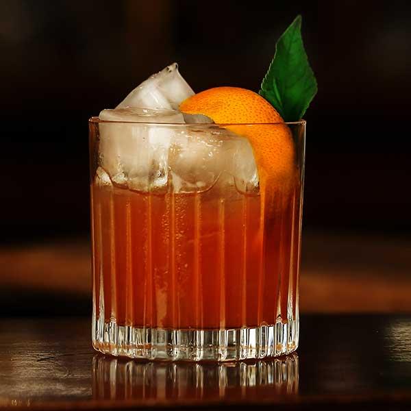 Grilled Orange Cocktail
