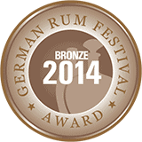 German Rum Fest 2014 Bronze